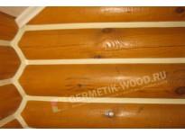 Внутренняя герметизация сруба дома